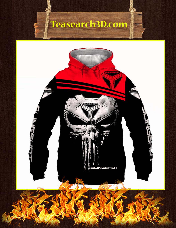 Punisher Skull Slingshot 3D Hoodie
