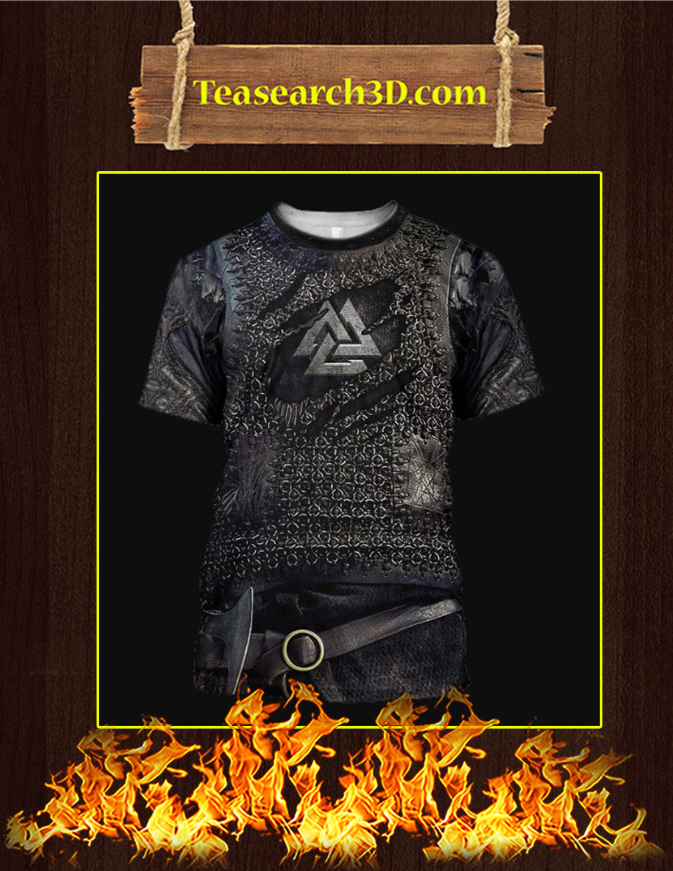 Vikings Armor 3D Printed T-shirt