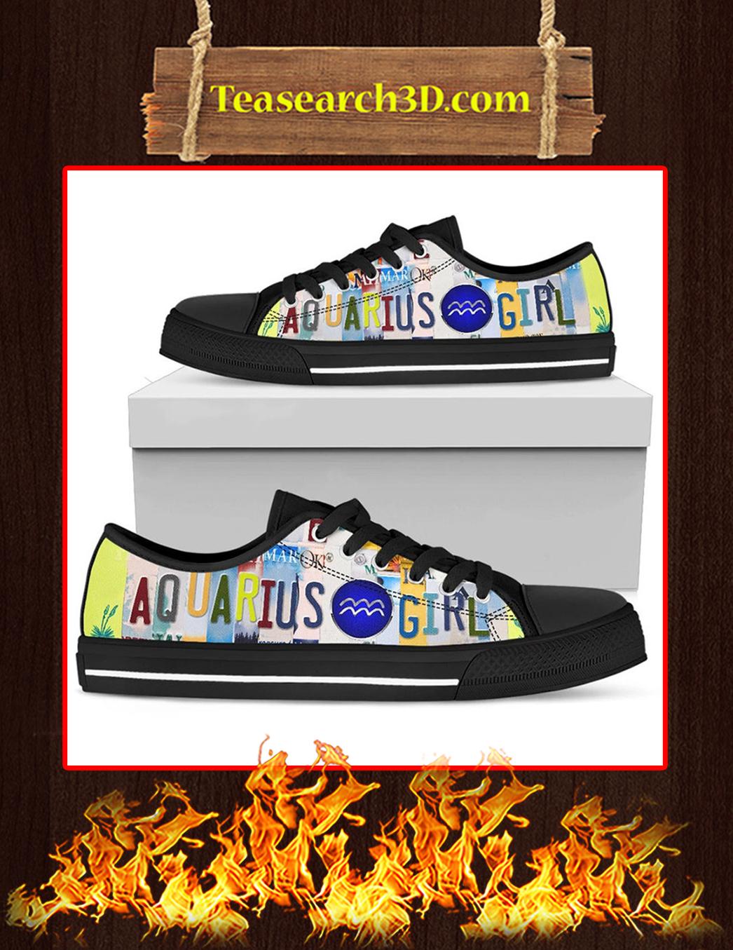 Aquarius Girl Low Top Shoes Black Pic 1