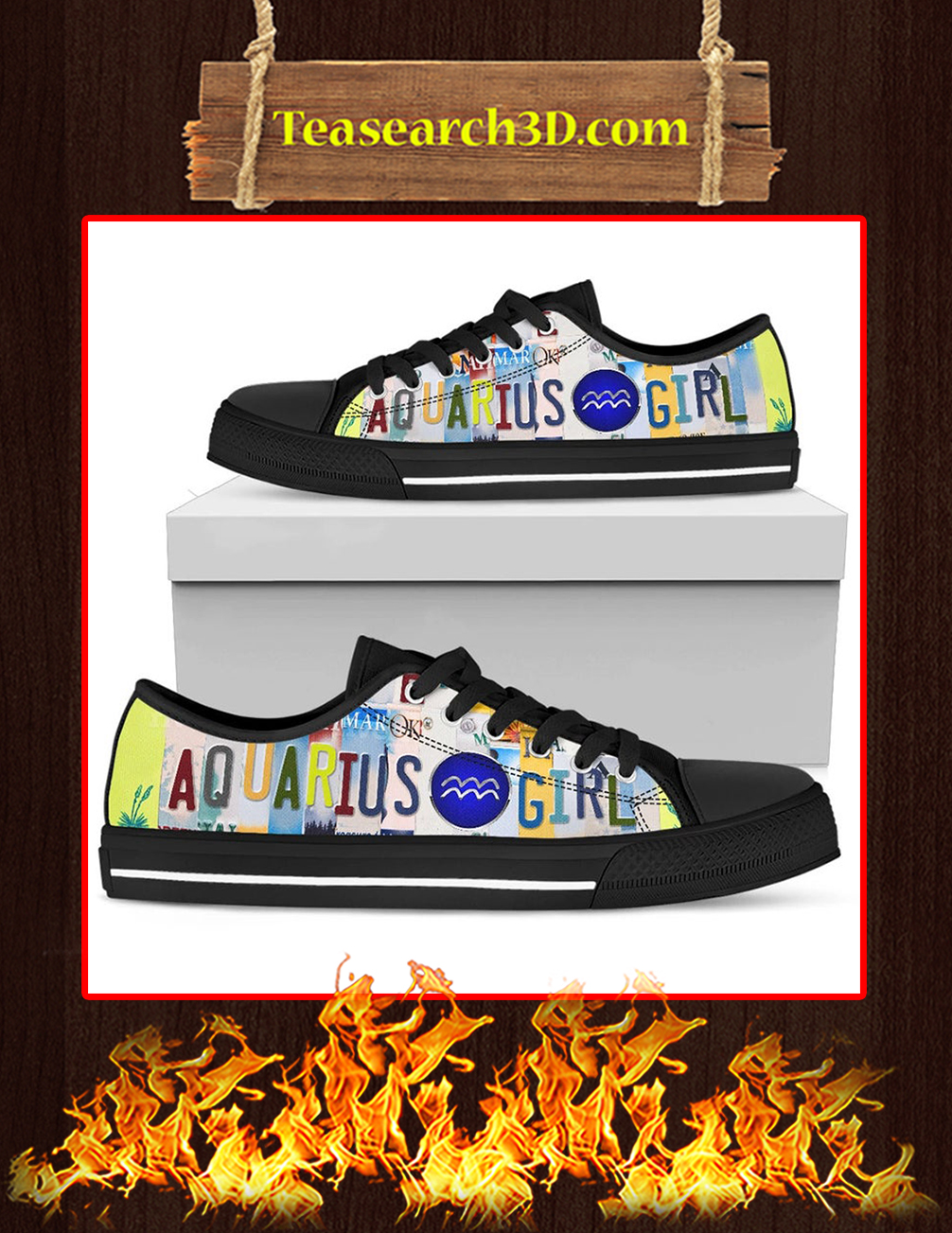 Aquarius Girl Low Top Shoes Black