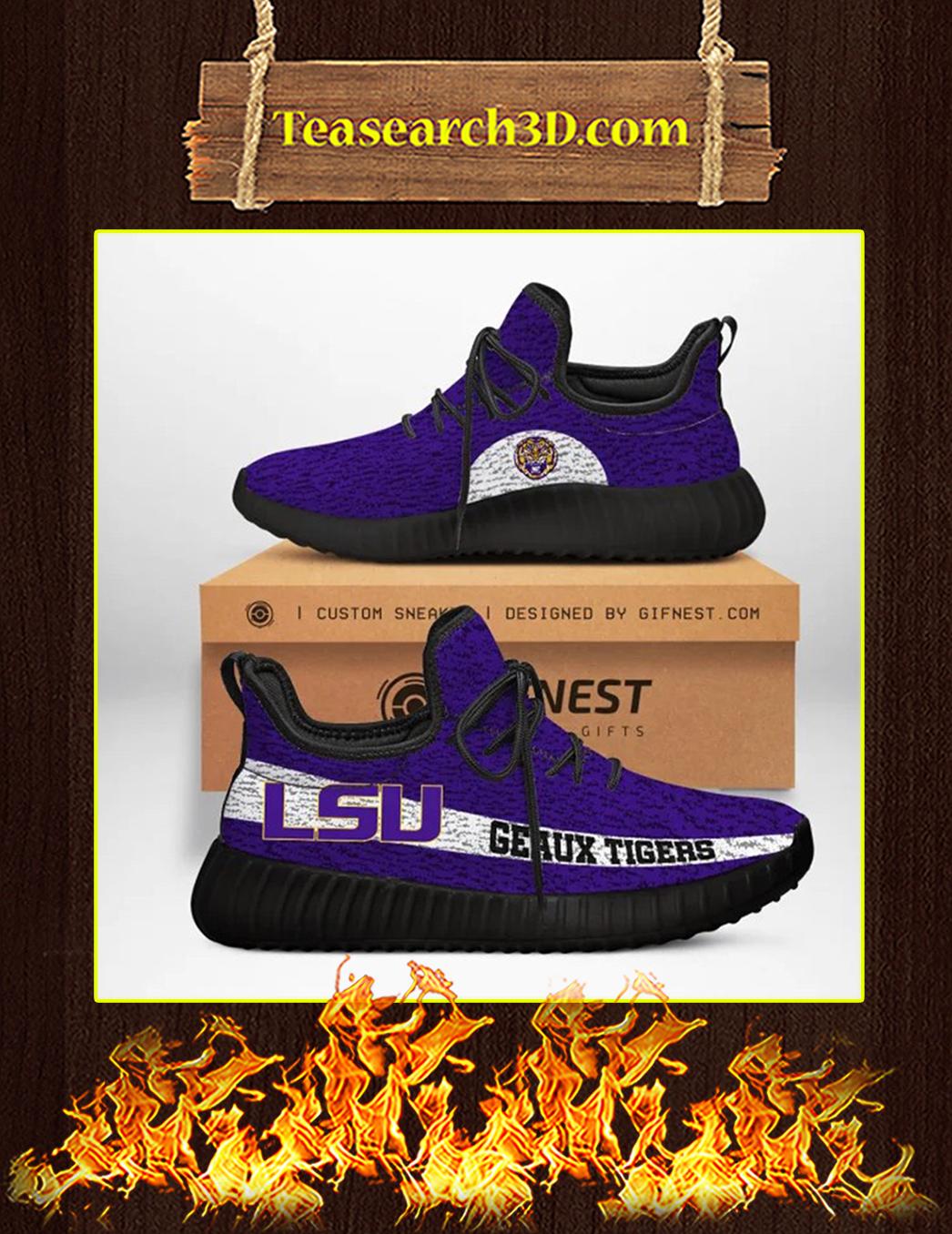 LSU Geaux Tigers Yeezy Sneaker pic 2