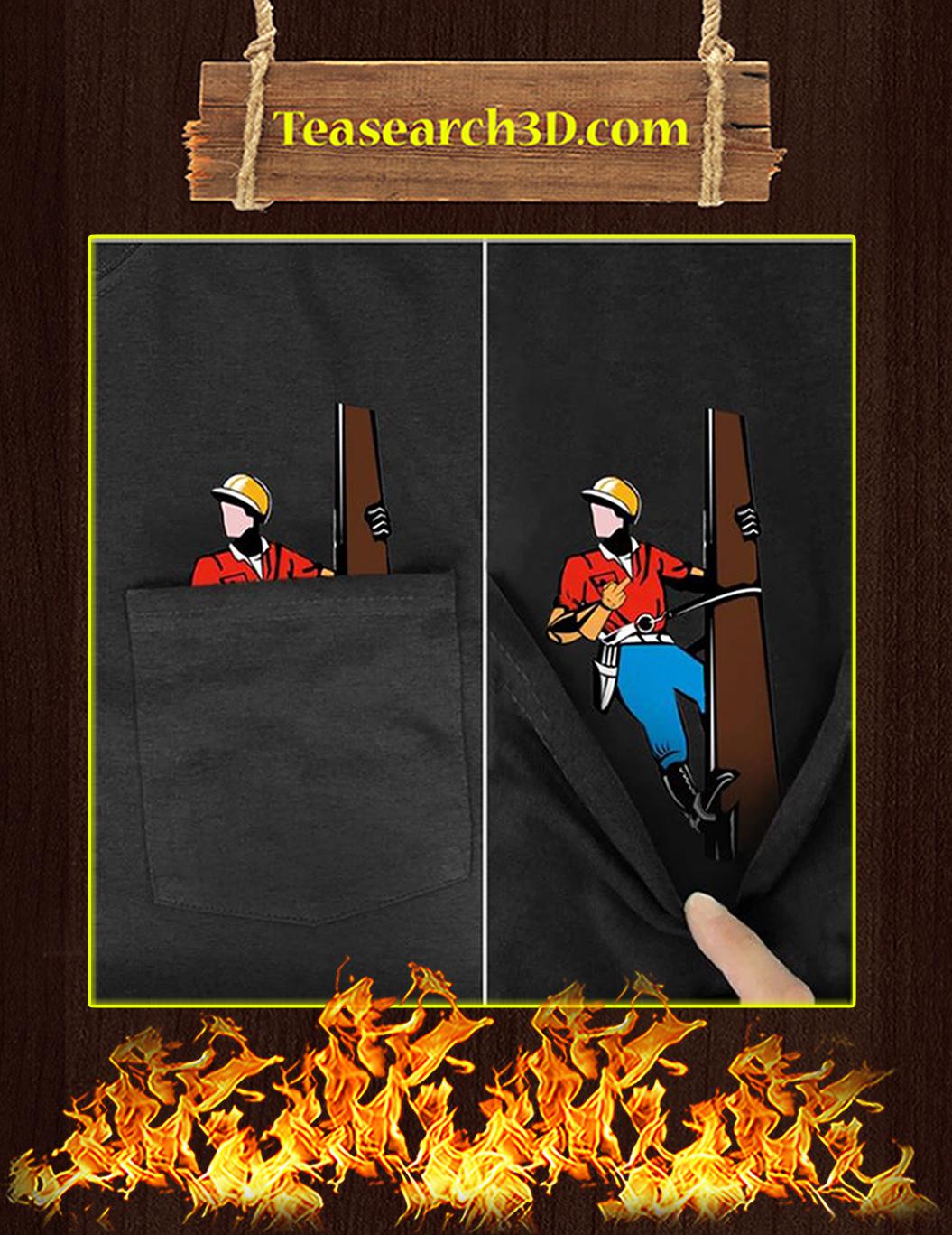 Lineman Pocket T-Shirt - In Detail