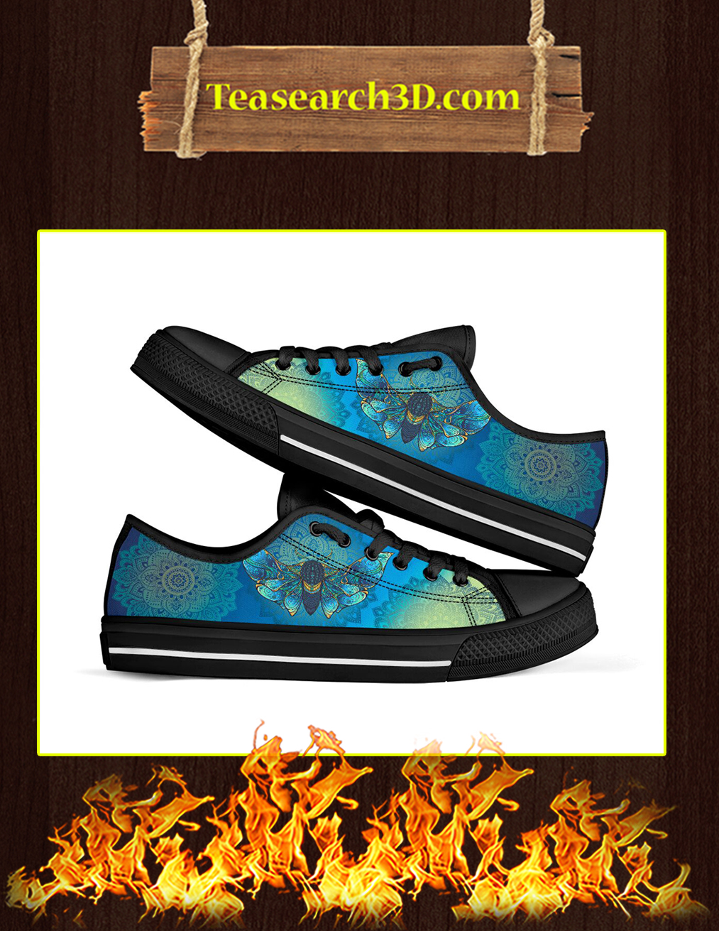 Moth Low Top Shoes - Pic 1