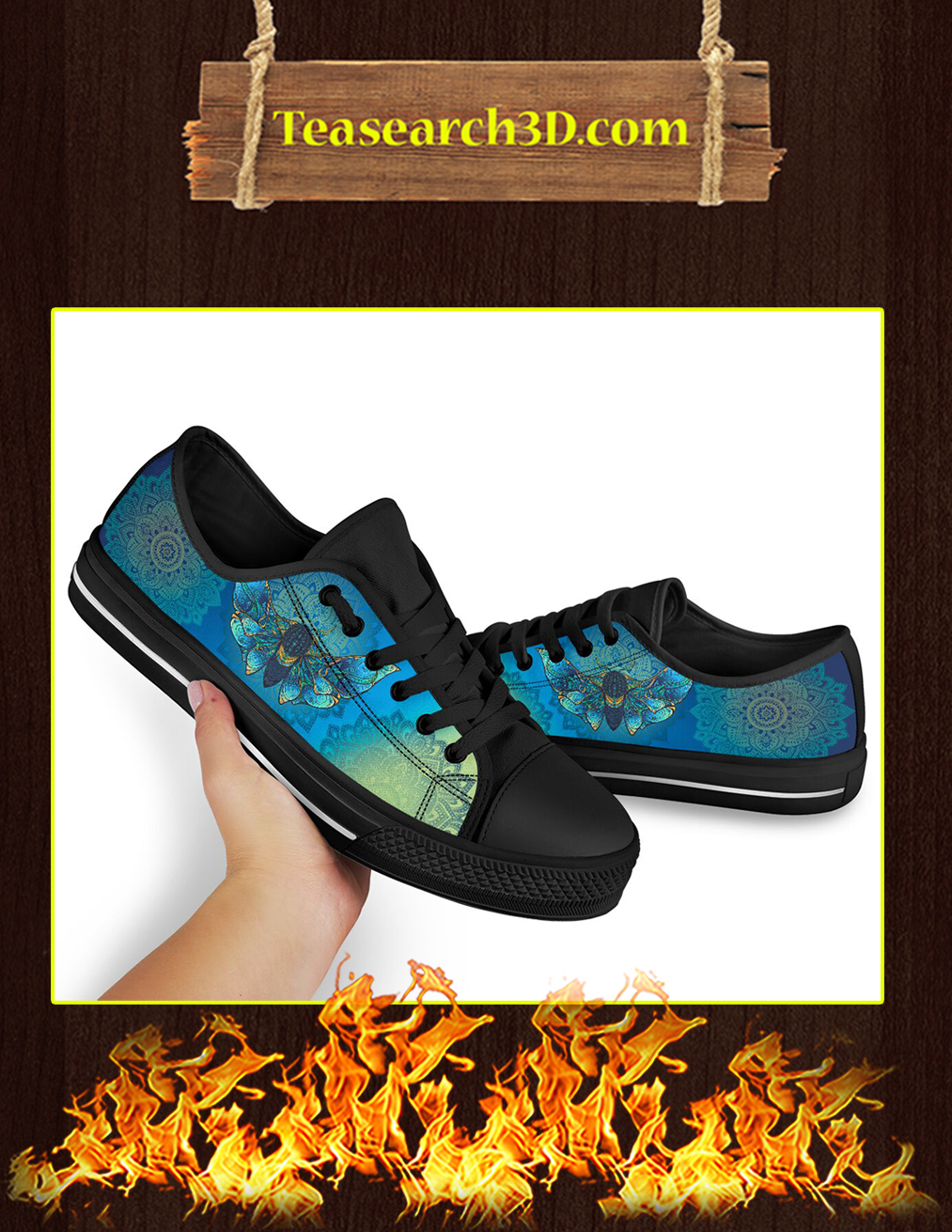 Moth Low Top Shoes - Pic 2