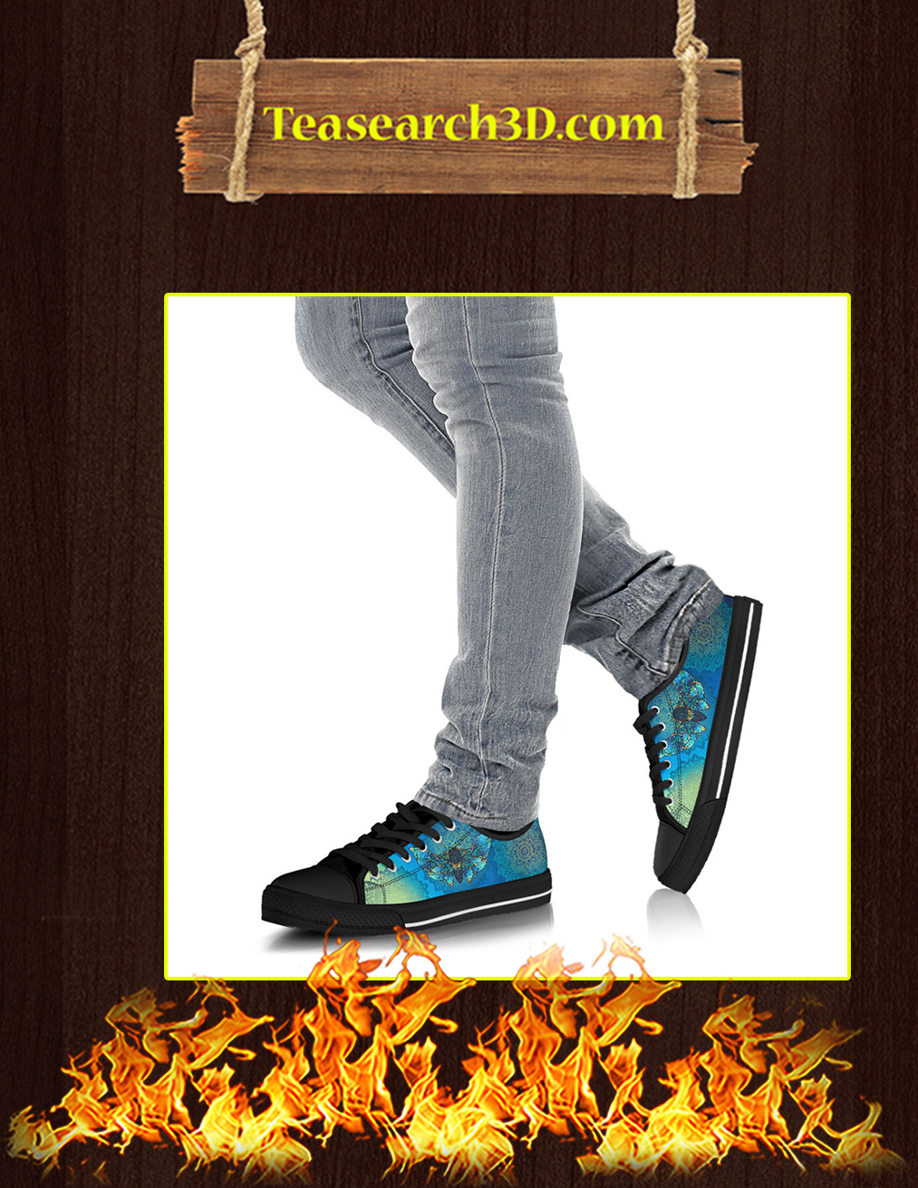 Moth Low Top Shoes - Pic 3