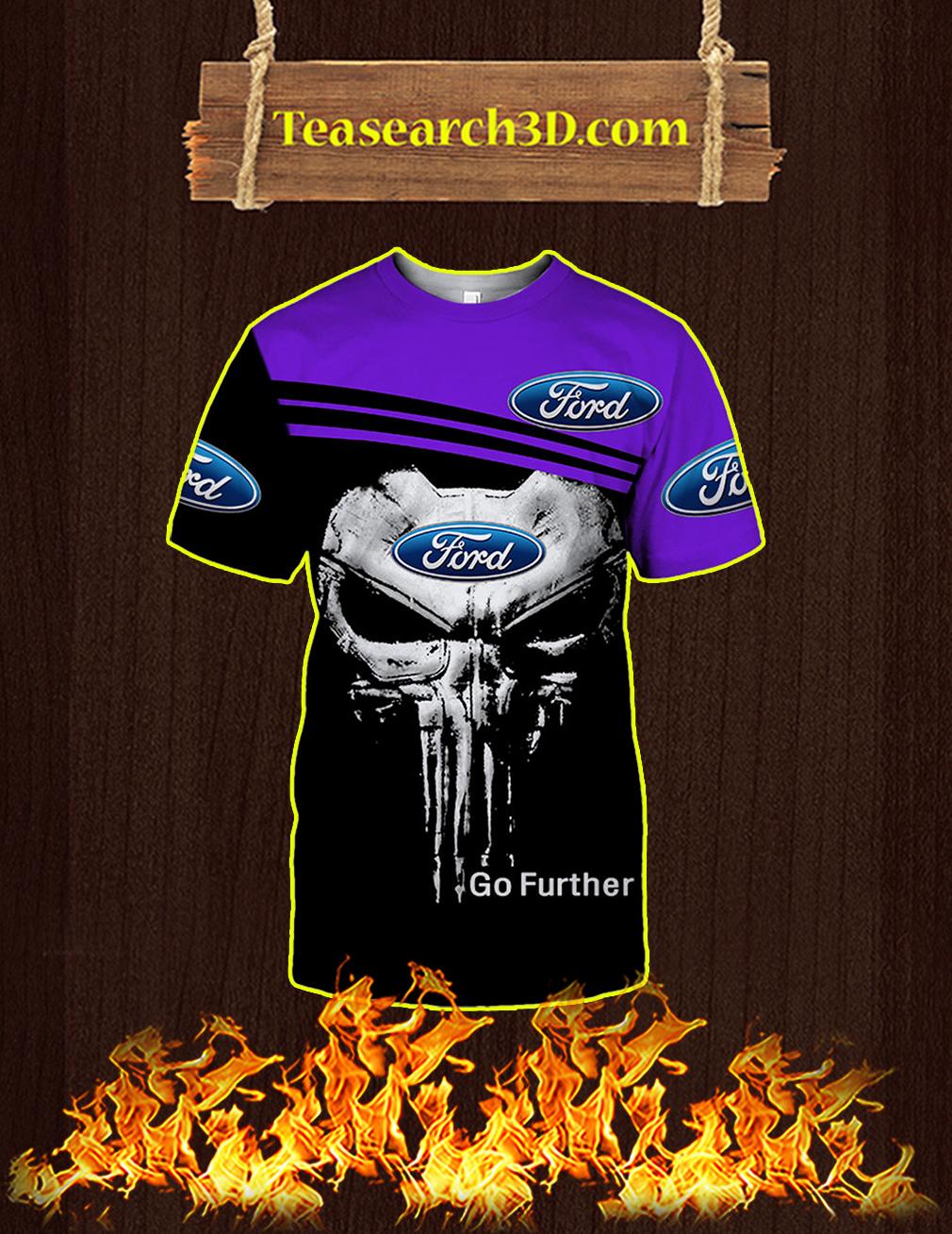 Punisher Skull Ford 3D T-shirt
