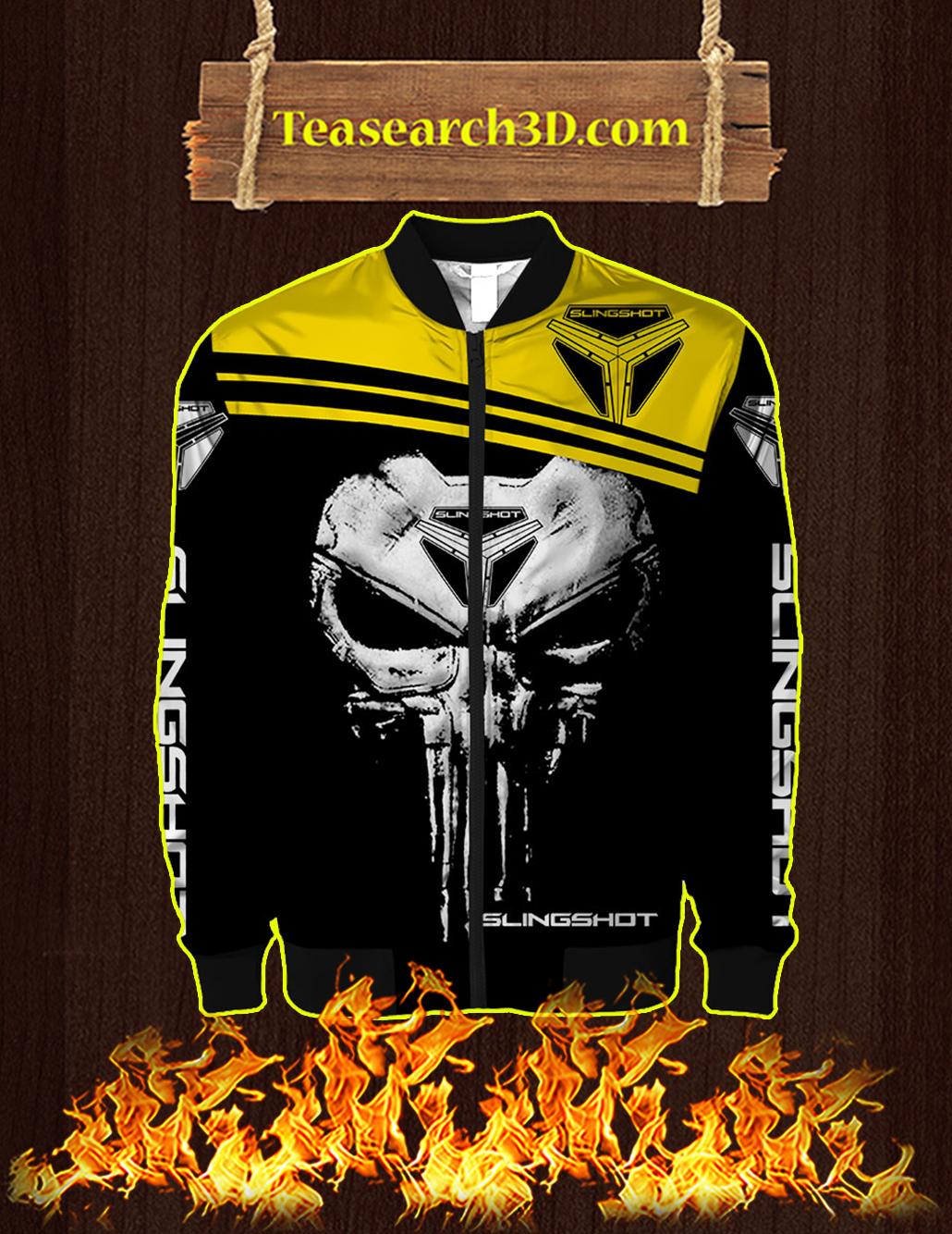 Punisher Skull Slingshot 3D Full Printing Bomber