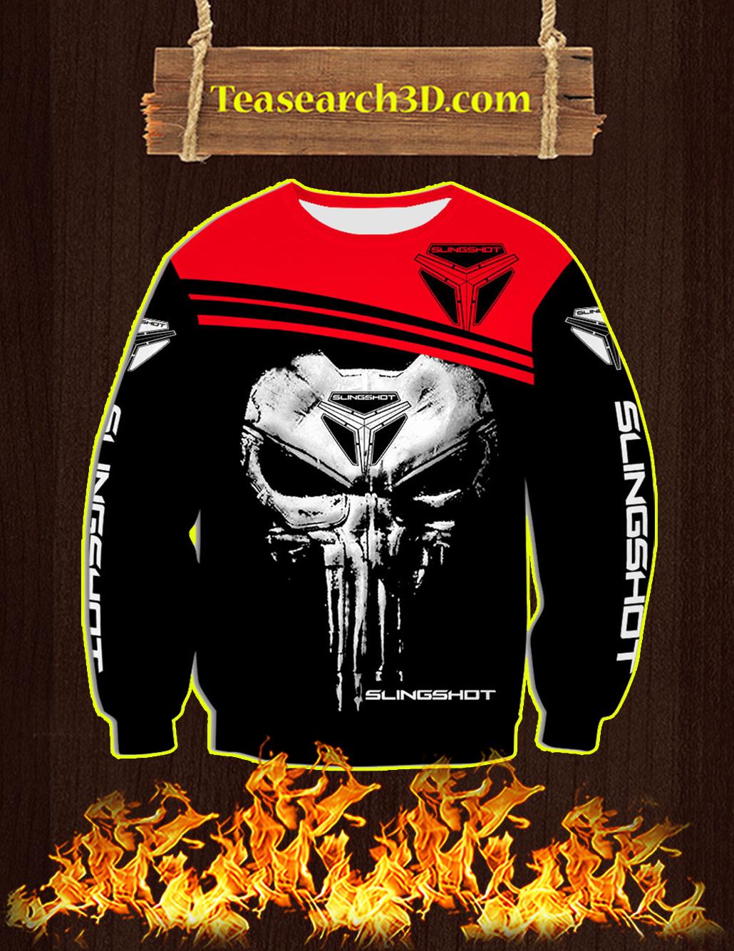 Punisher Skull Slingshot 3D Sweatshirt