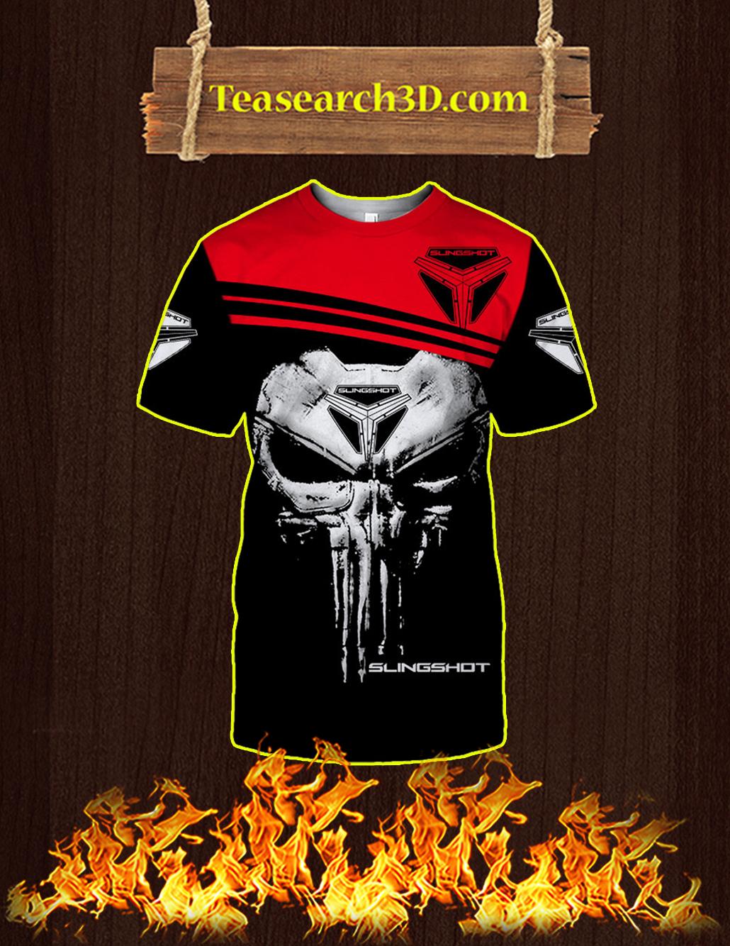 Punisher Skull Slingshot 3D T-shirt
