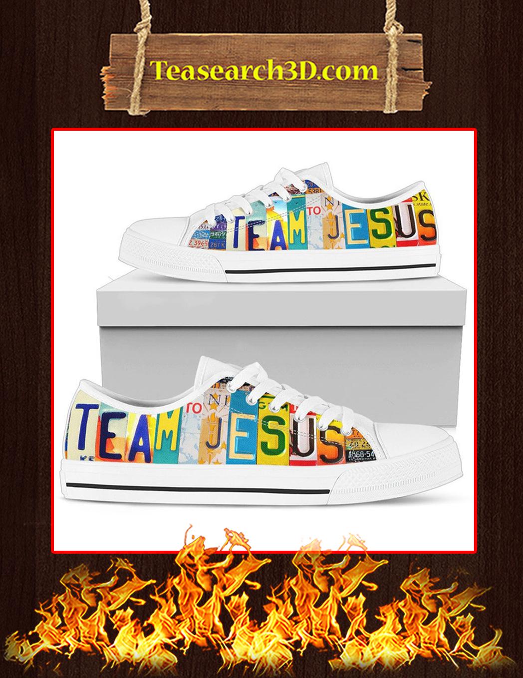 Team Jesus Low Top Shoes - Pic 1