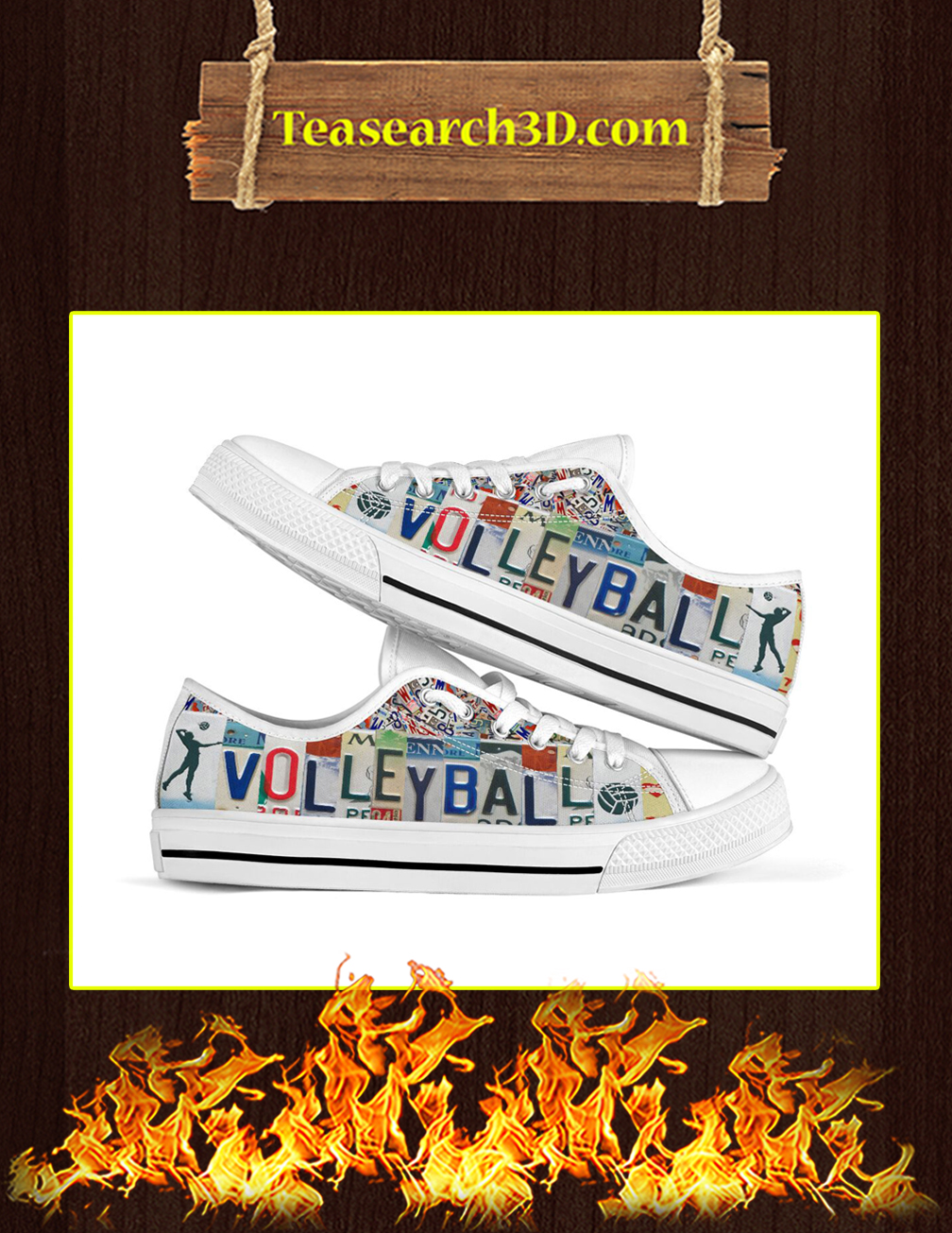 Volleyball Low Top Shoes pic 1