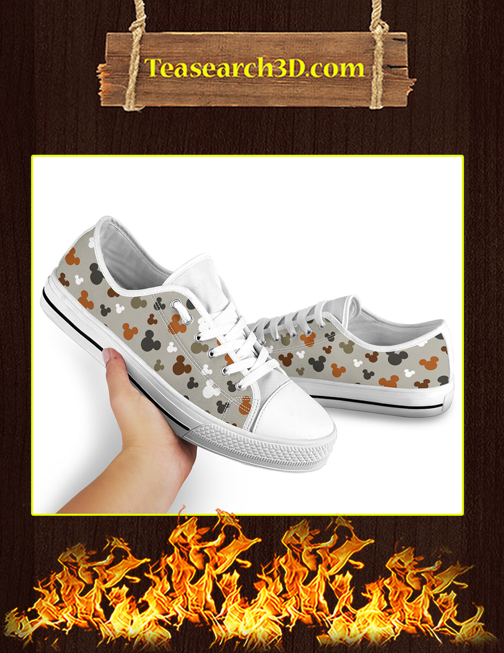 Disney Mickey Low Top Shoes pic 2