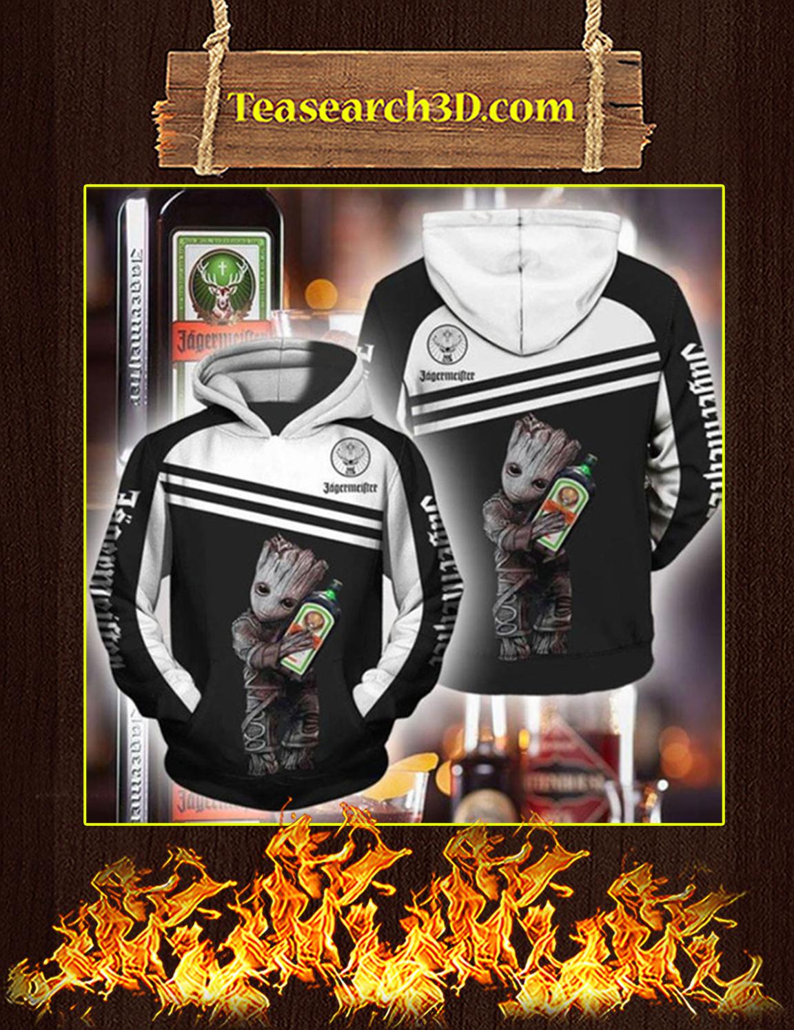 Groot Jagermeister 3d hoodie Size XL