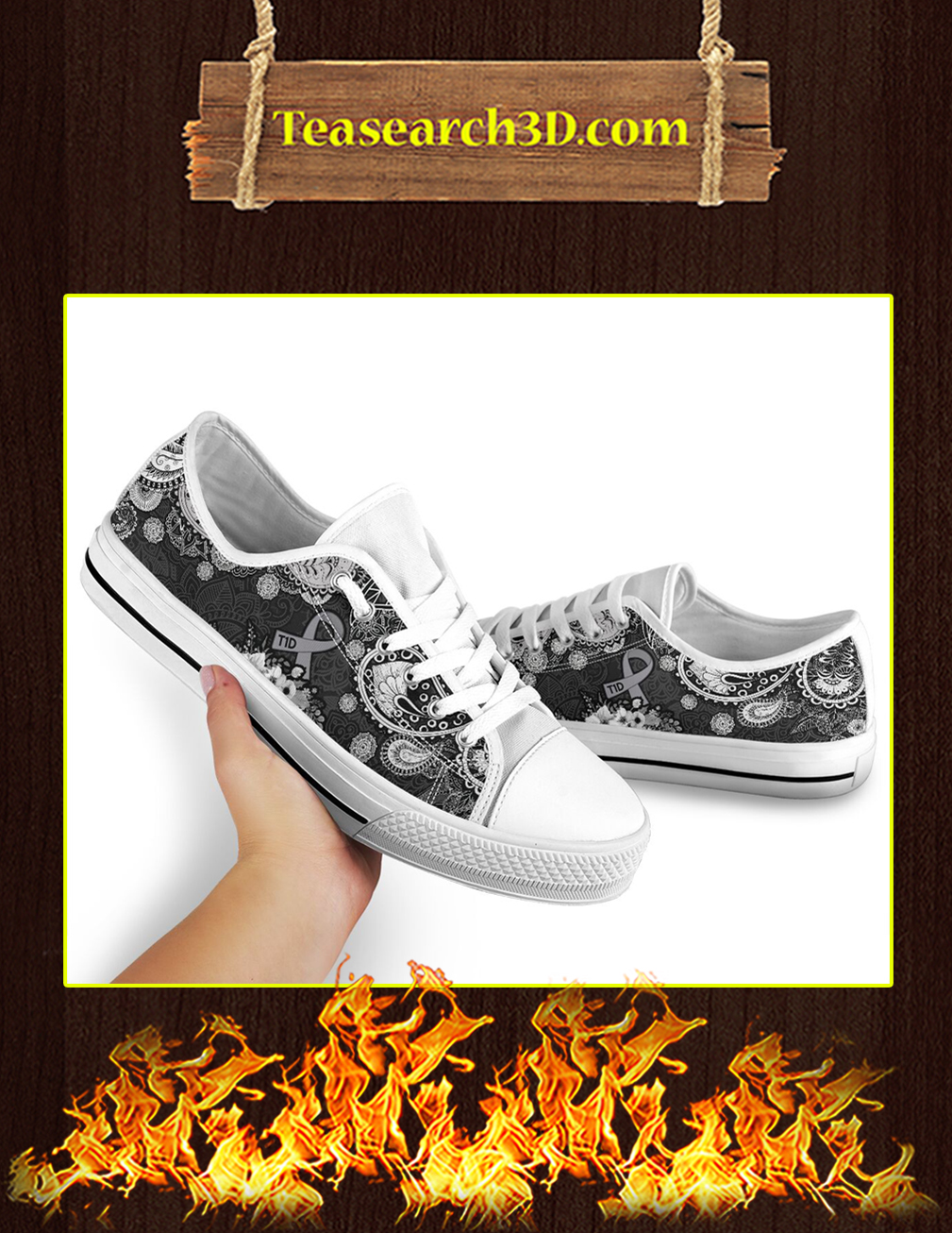 T1D Low Top Shoes Pic 2