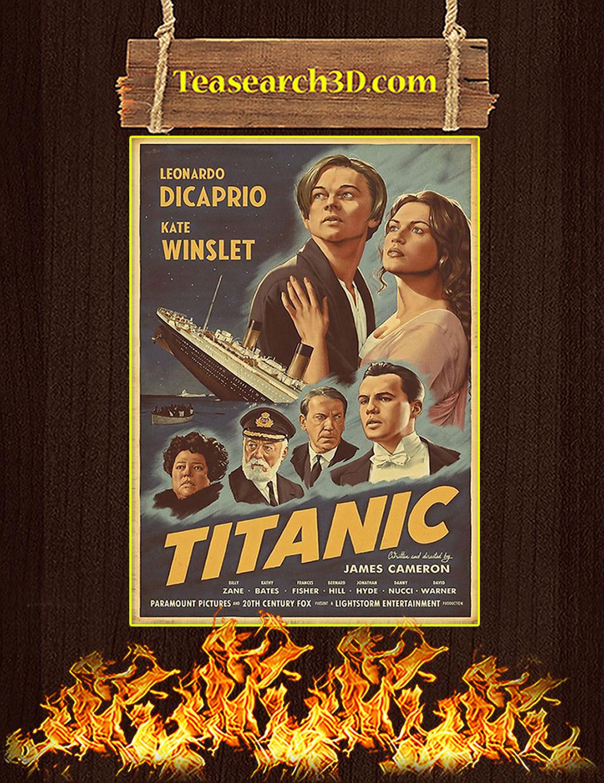 Titanic Leonardo Dicaprio Kate Winslet Poster A1