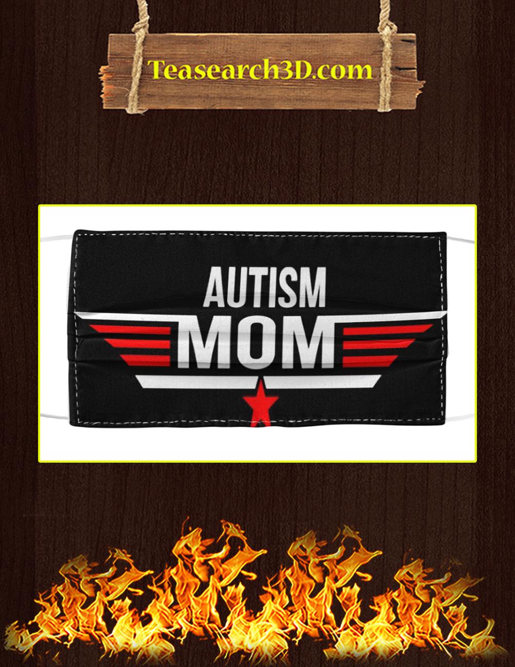 Autism Mom Cloth Face Mask