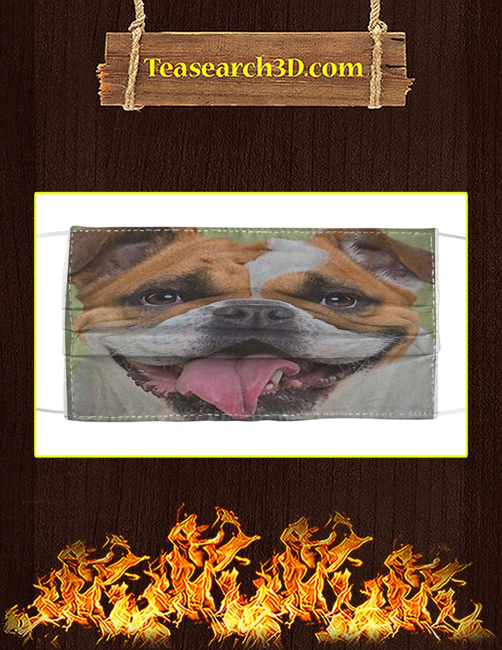 Bulldog Cloth Face Mask