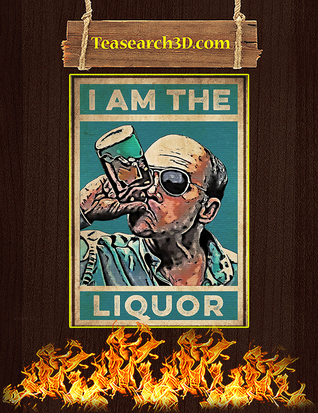 I am the liquor poster A1
