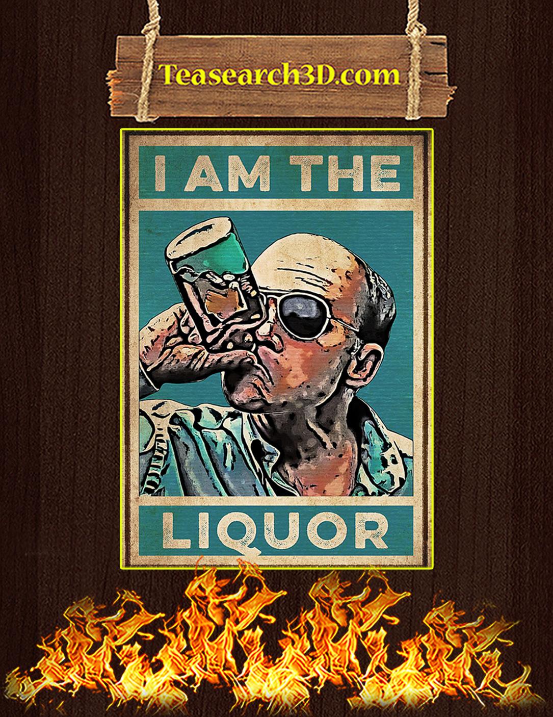 I am the liquor poster A2
