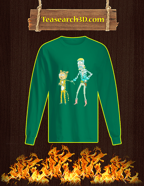 Rick and Morty Tiger King Long-sleeved