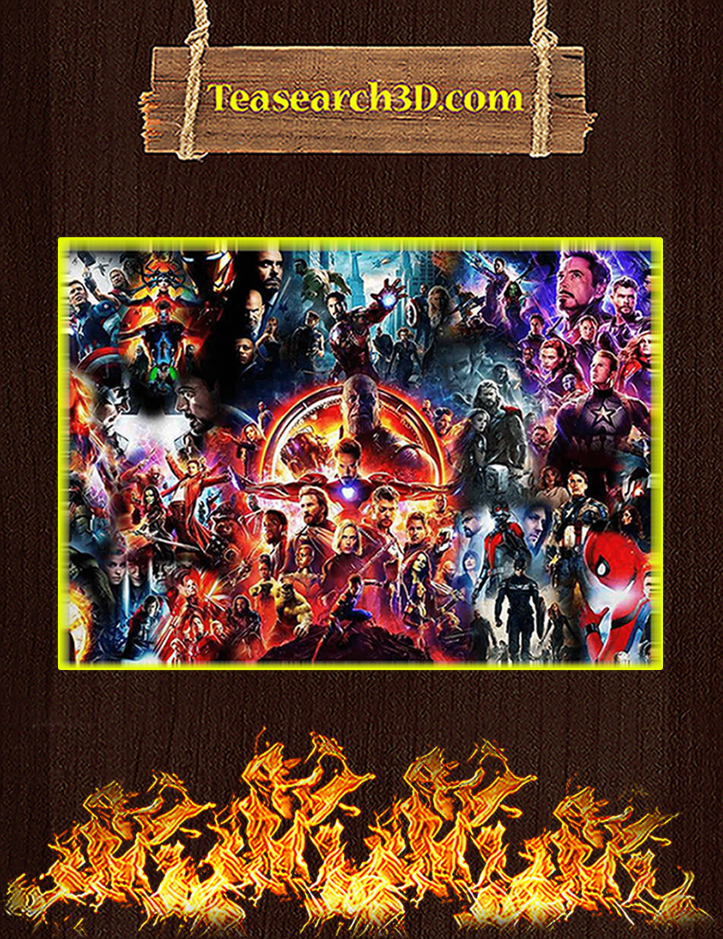 The Avenger End Game Poster A1
