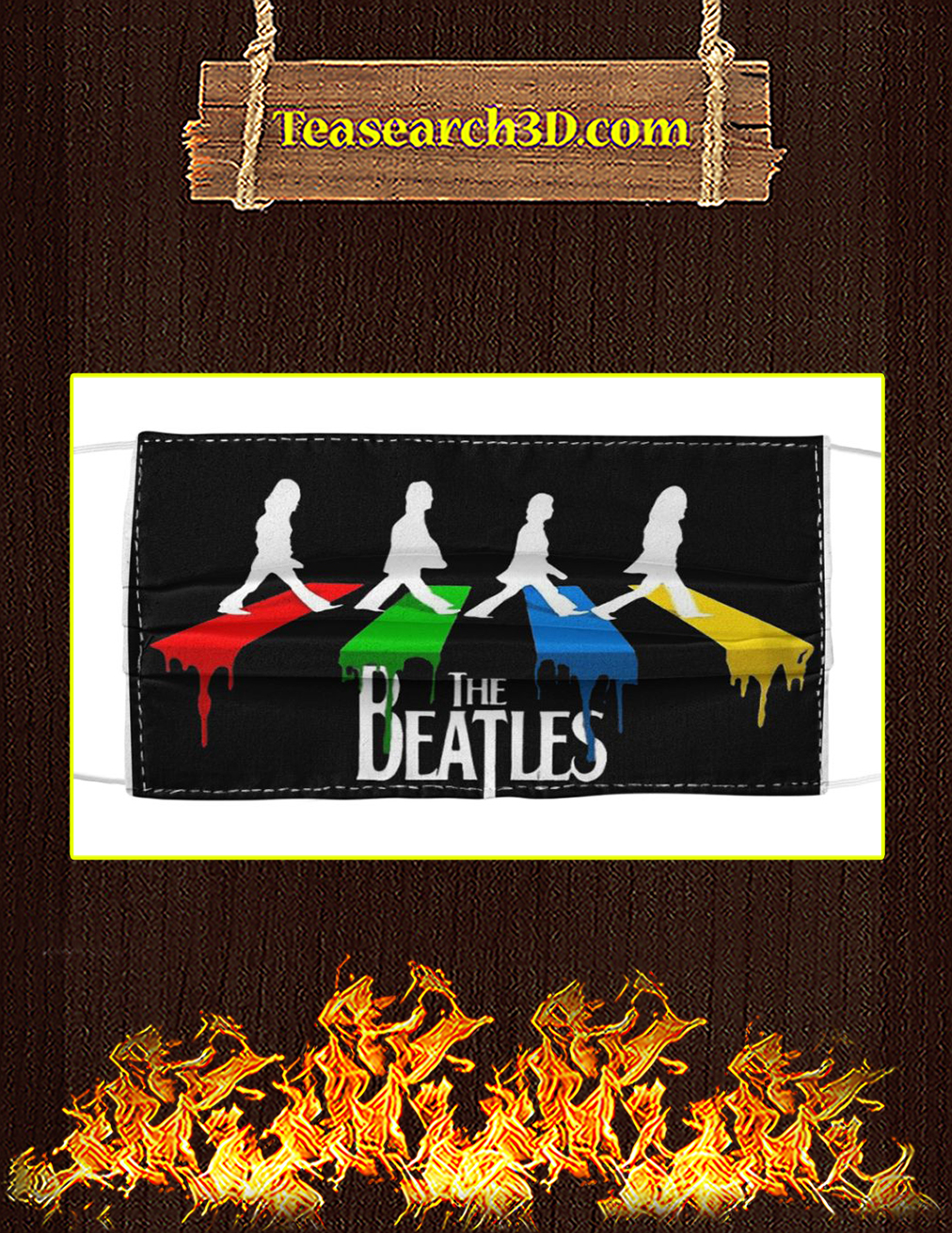 The Beatles Abbey Road Cloth Face Mask