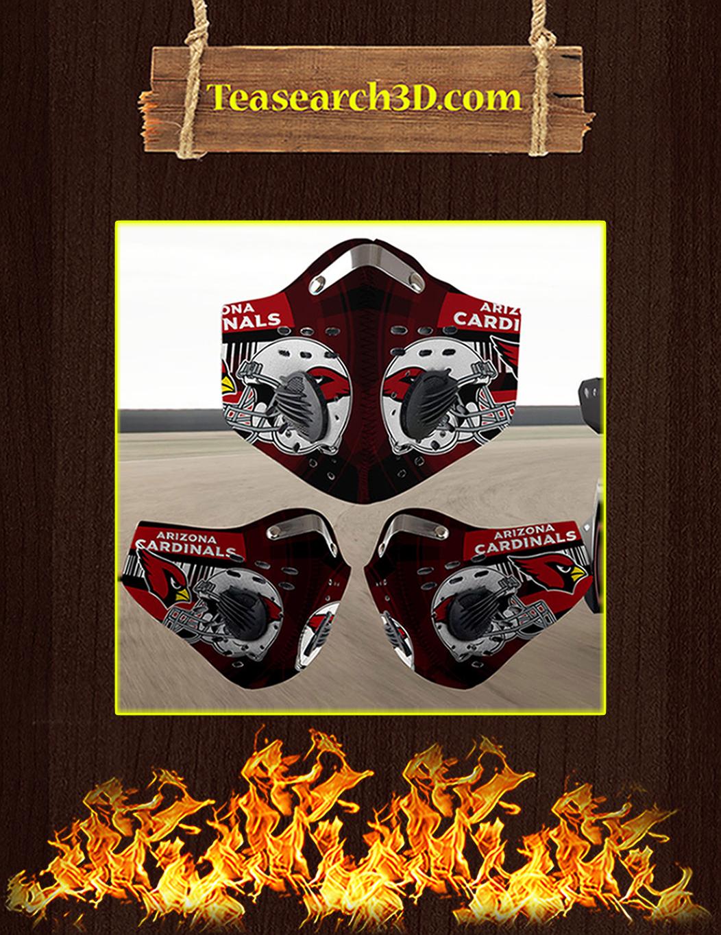 Arizona Cardinals filter face mask pack 10