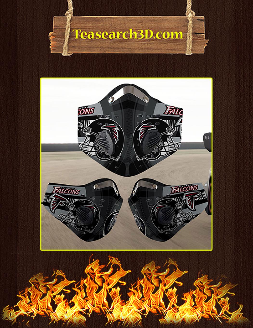 Atlanta Falcons filter face mask pack 3