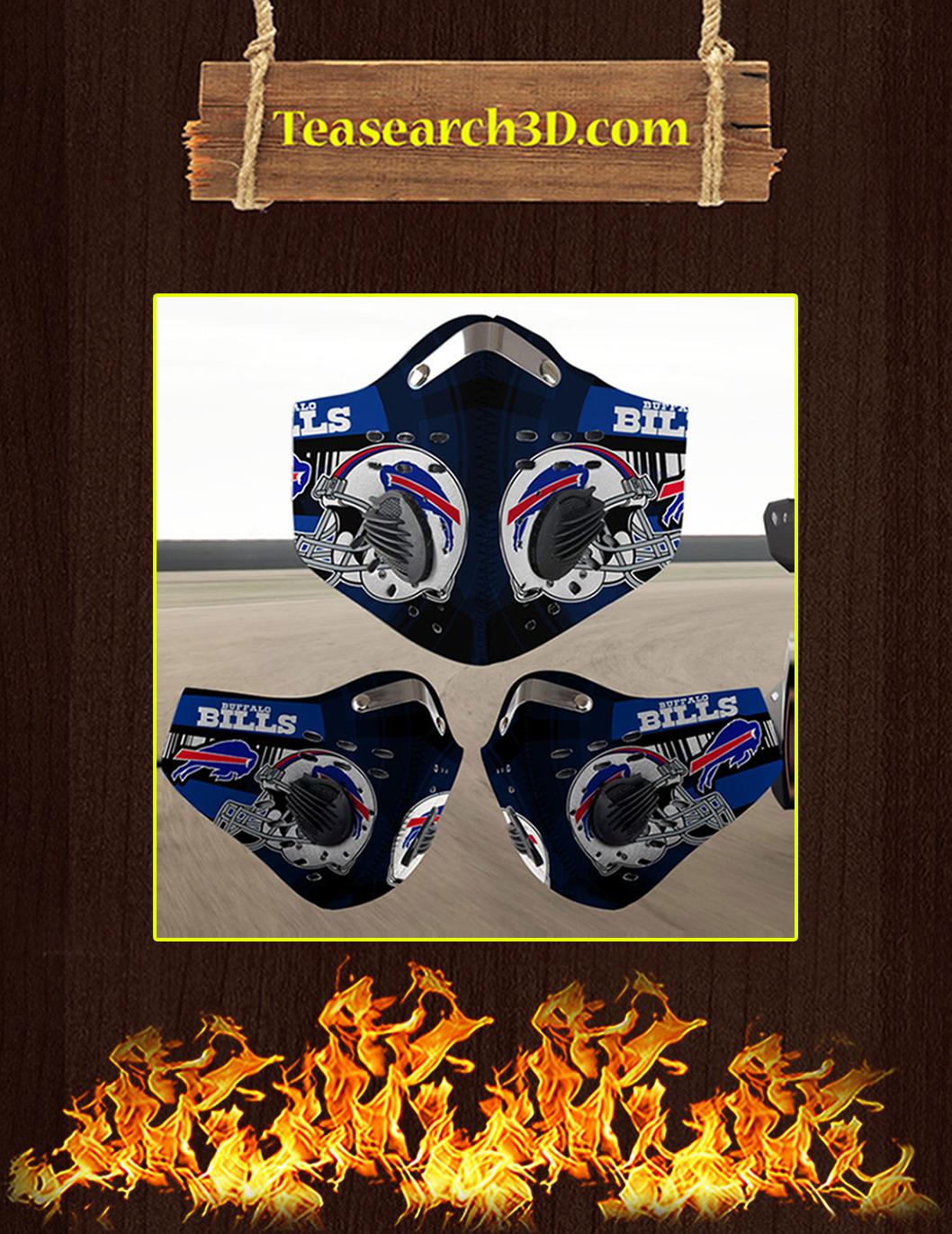 Buffalo Bills filter face mask pack 10