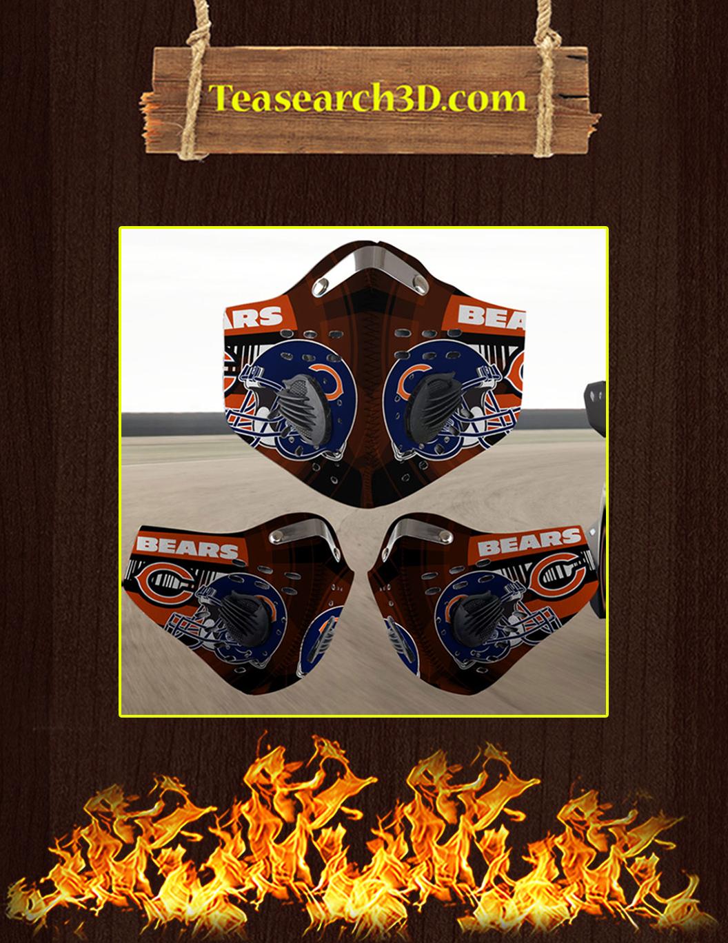 Chicago Bears filter face mask pack 10