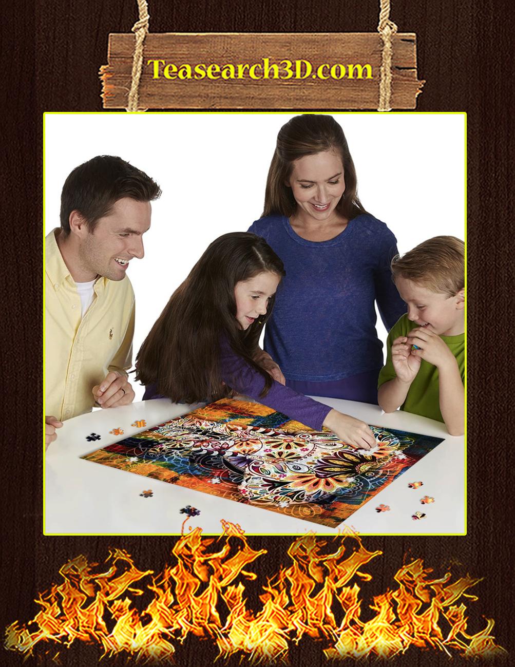 Elephant Mandala Jigsaw Puzzle pic 3