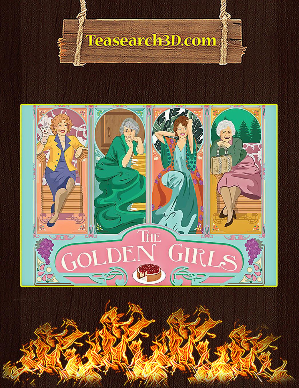 Golden girls poster A1