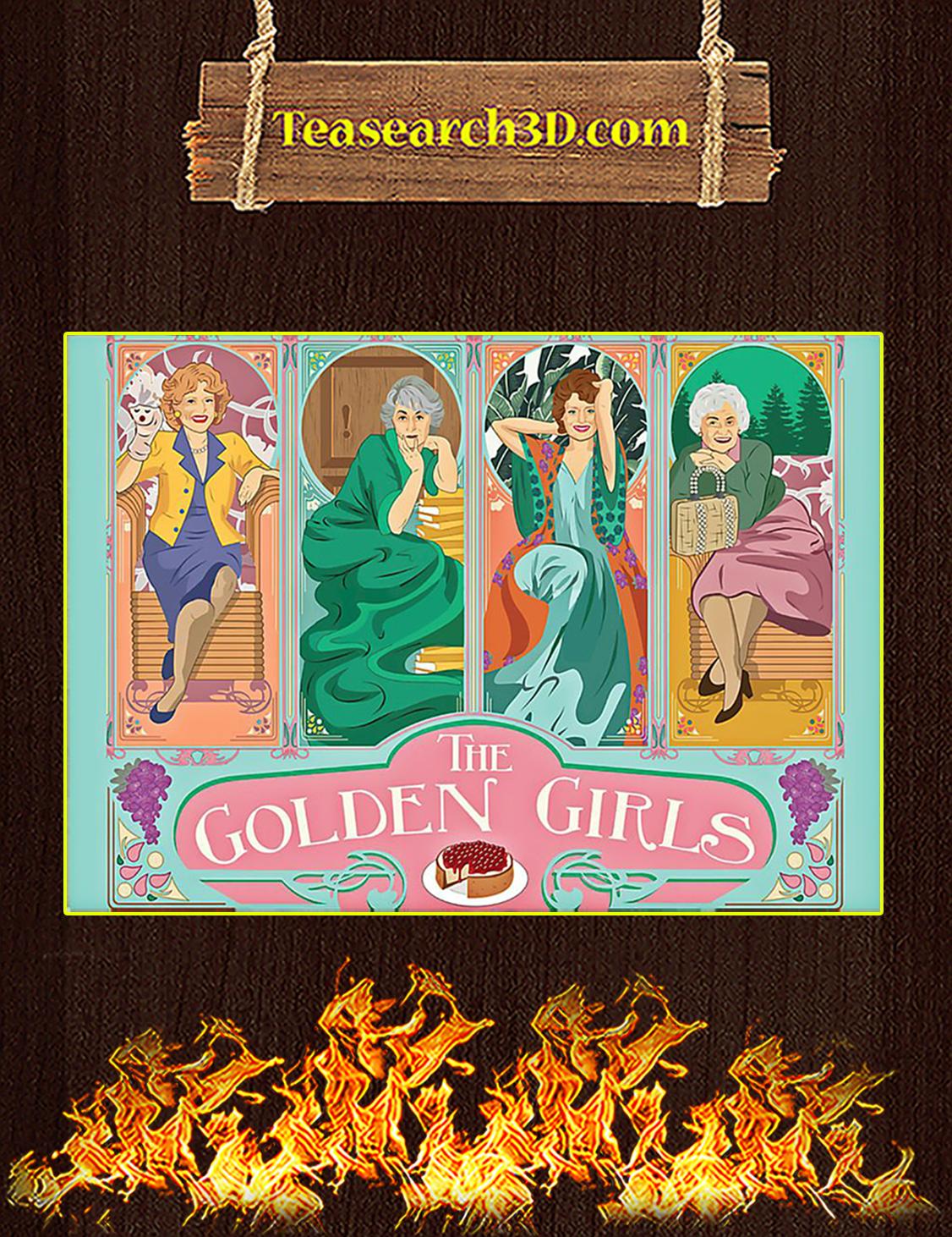 Golden girls poster A3