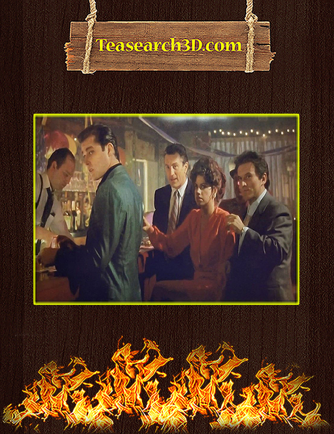 Goodfellas poster A3