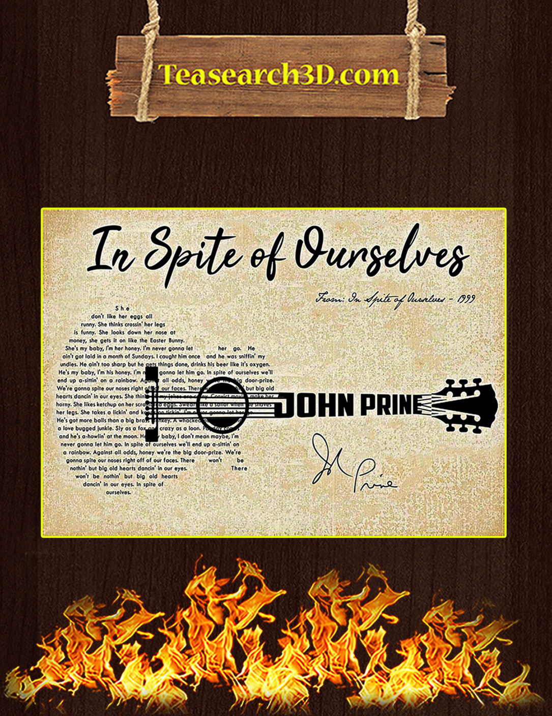 In spite of ourselves John Prine poster A2
