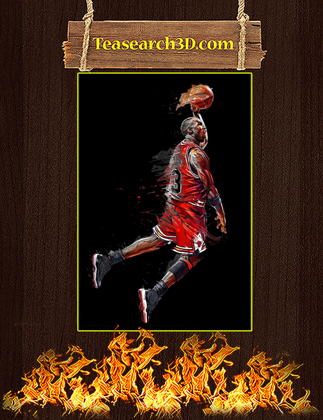 Michael Jordan air legend canvas prints large