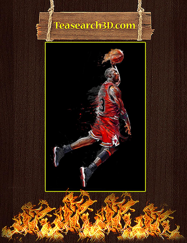 Michael Jordan air legend canvas prints small