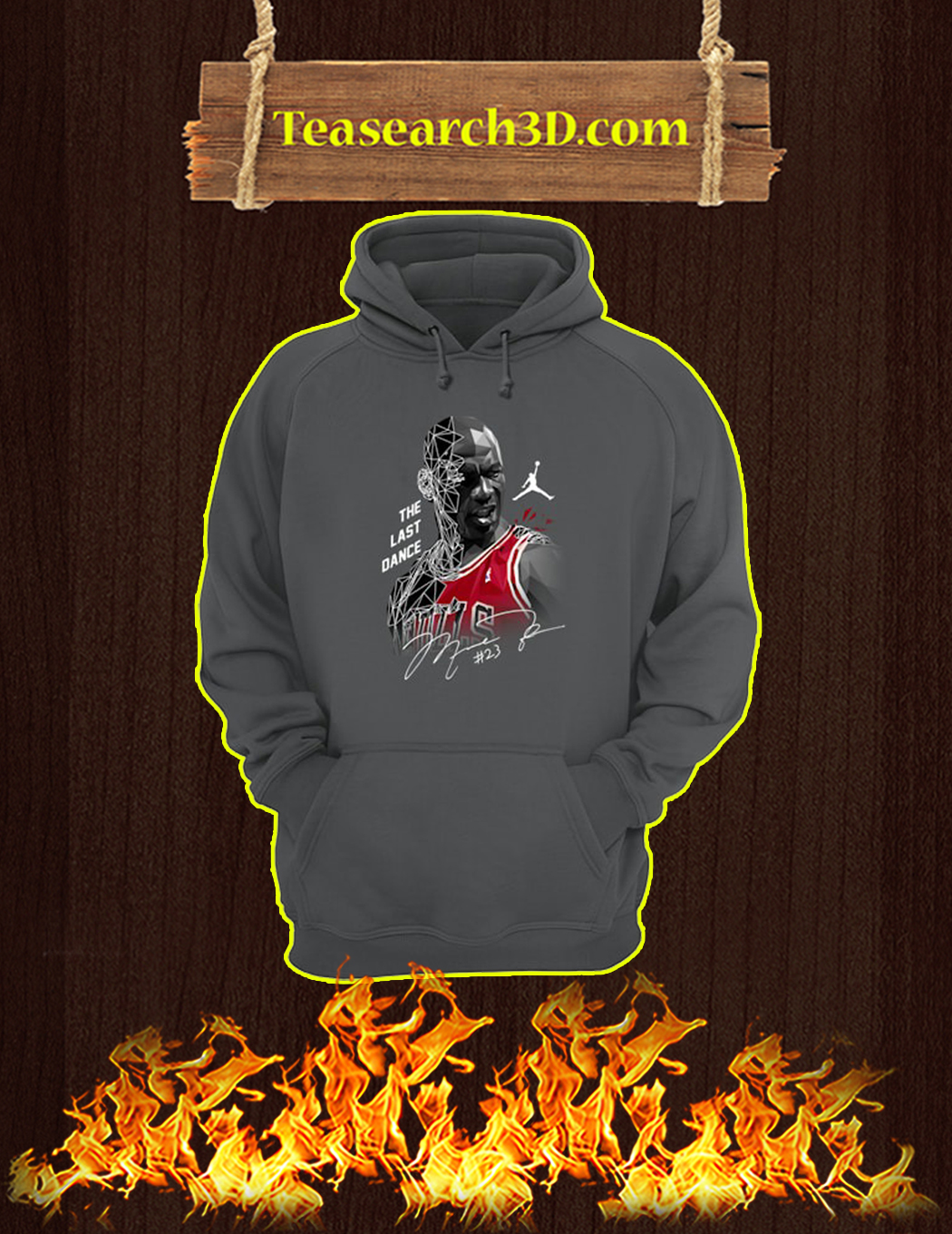 Michael Jordan the last dance signature hoodie