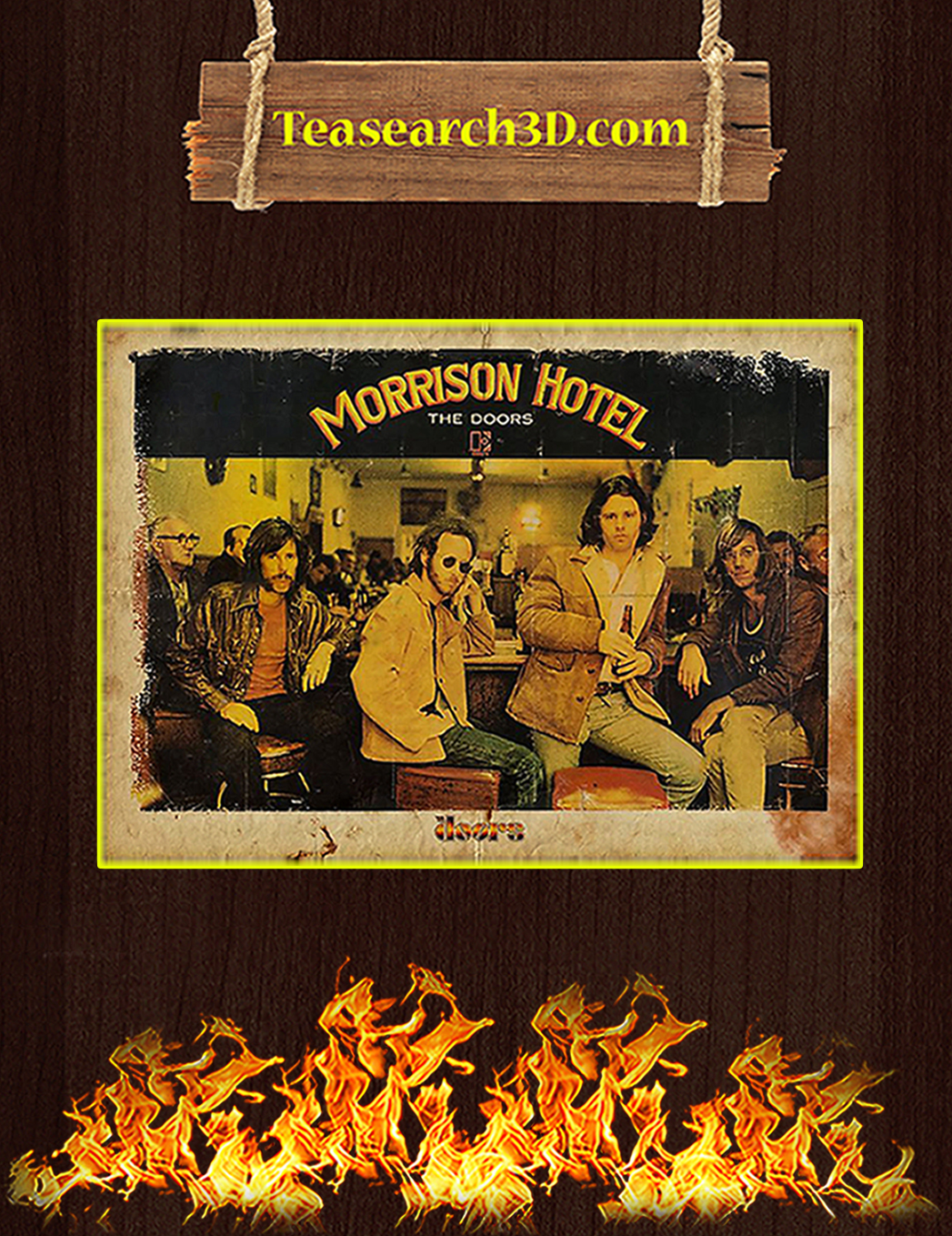 Morrison hotel the doors poster A1