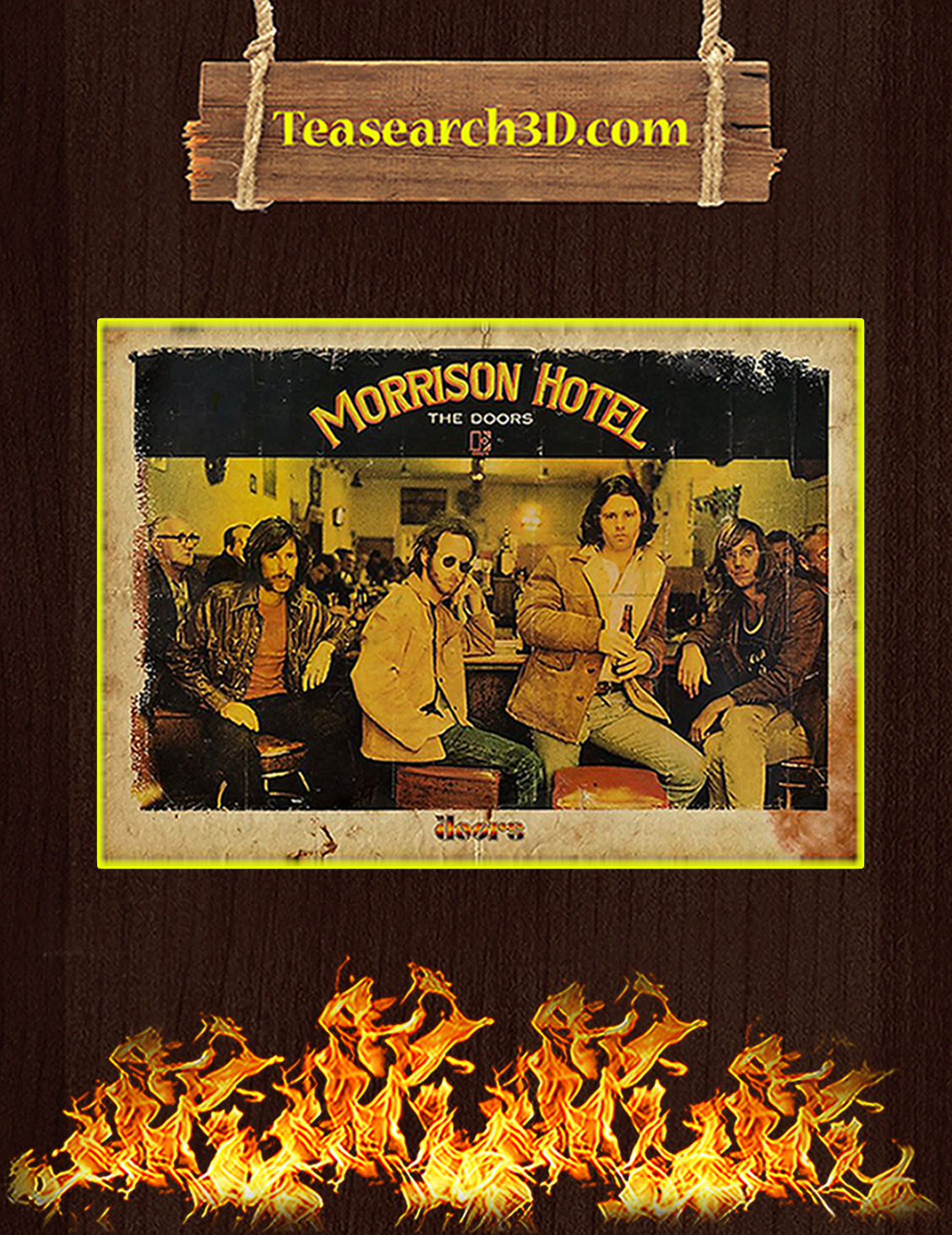 Morrison hotel the doors poster A3