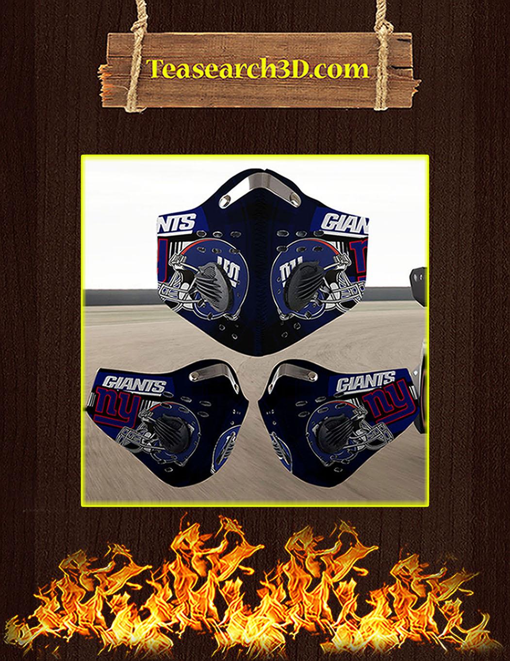 New York Giants filter face mask pack 10