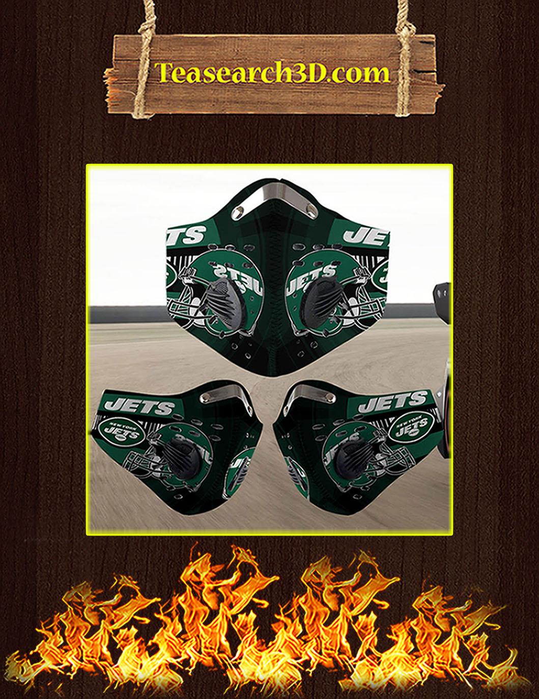 New York Jets filter face mask pack 5
