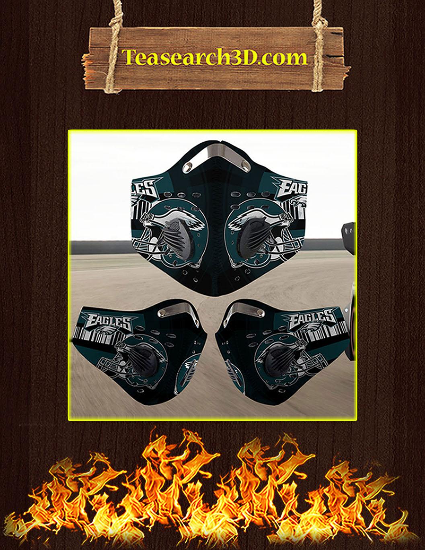 Philadelphia Eagles filter face mask pack 3