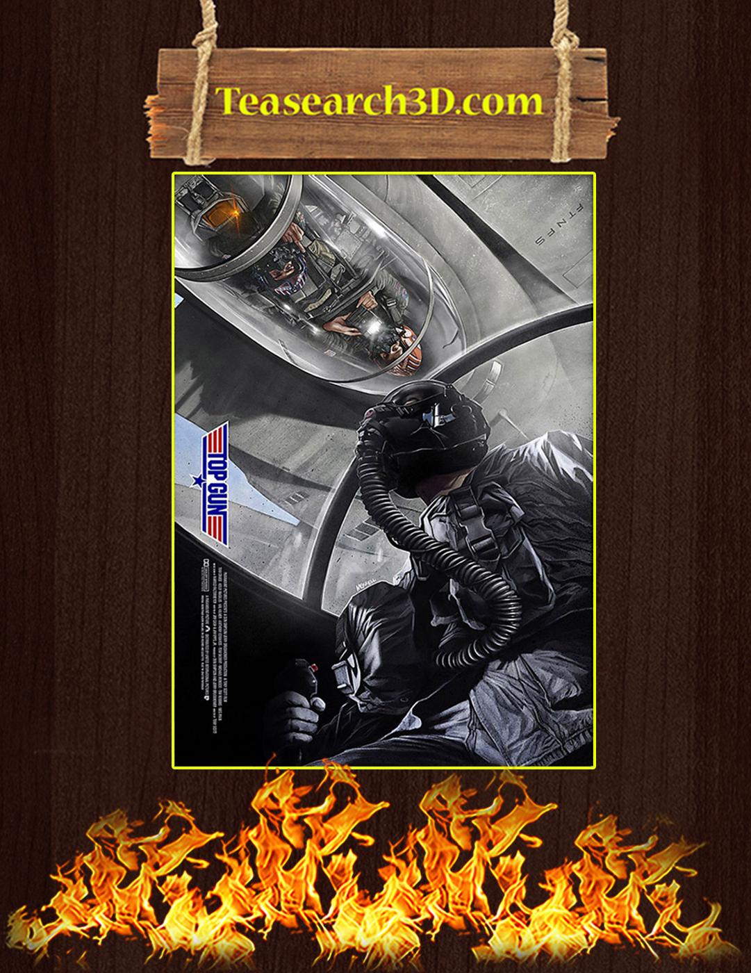 Top gun flyby poster A2