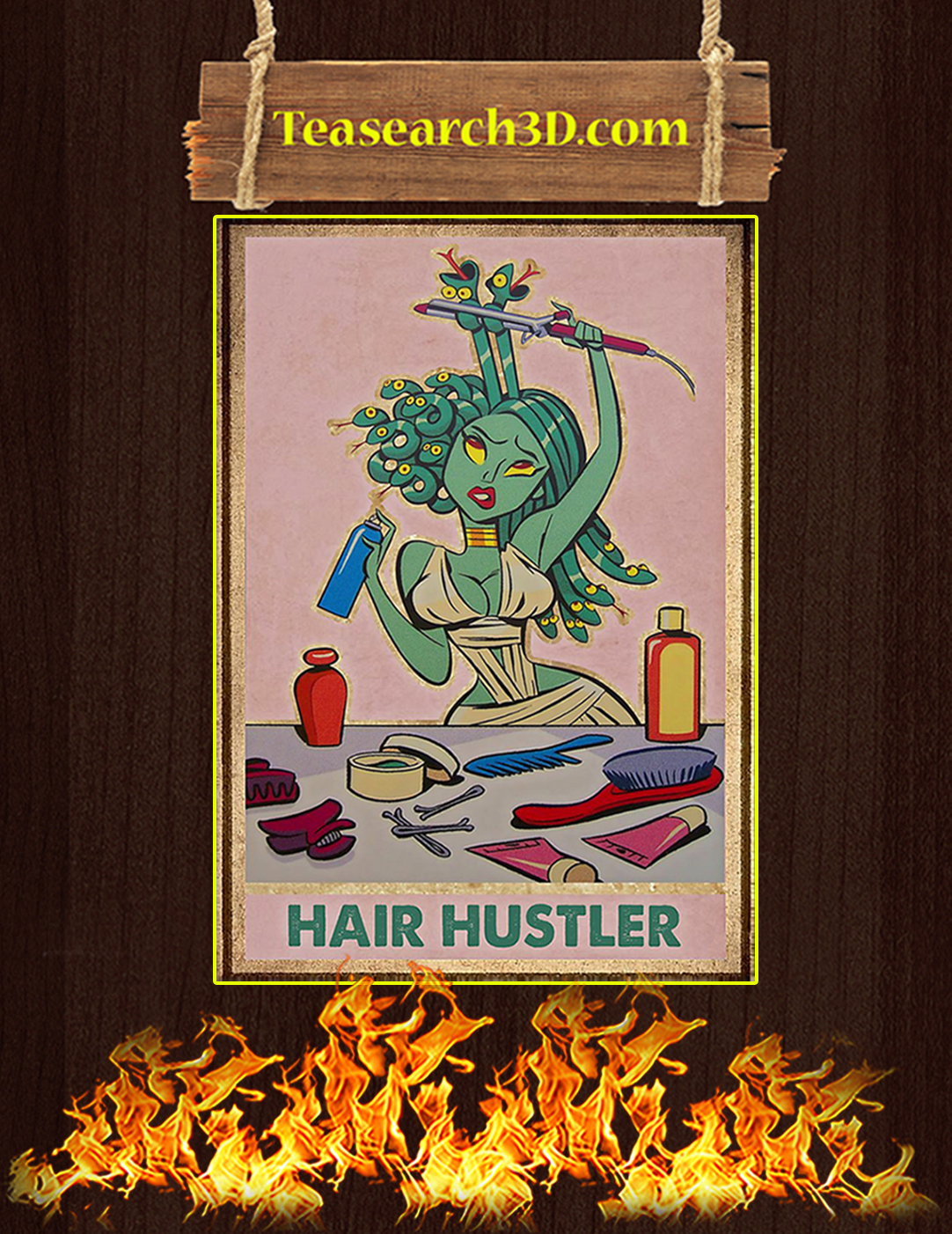 Hair hustler poster A2