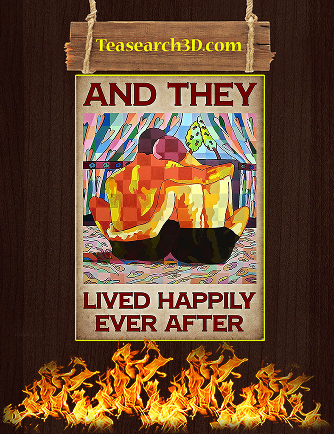 LGBT and they lived happily ever after poster A2