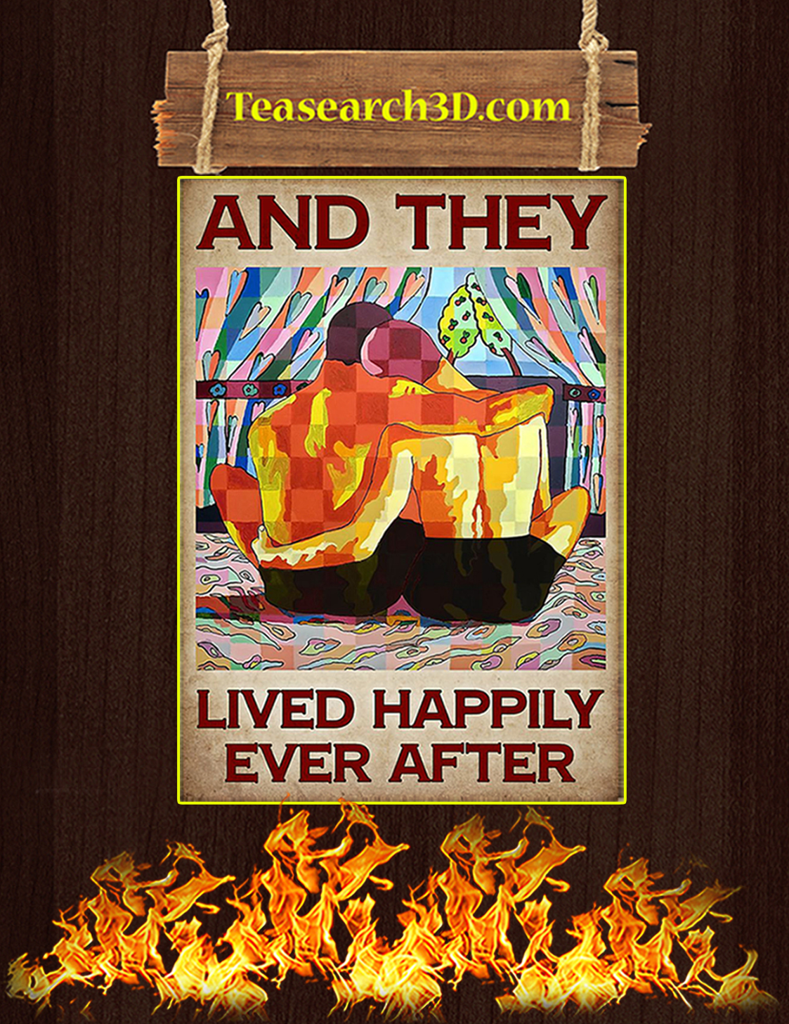 LGBT and they lived happily ever after poster A3