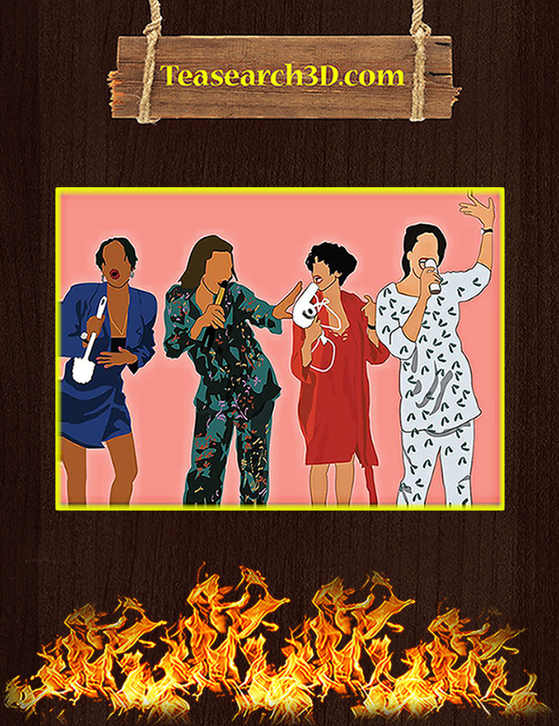 Living single poster A3