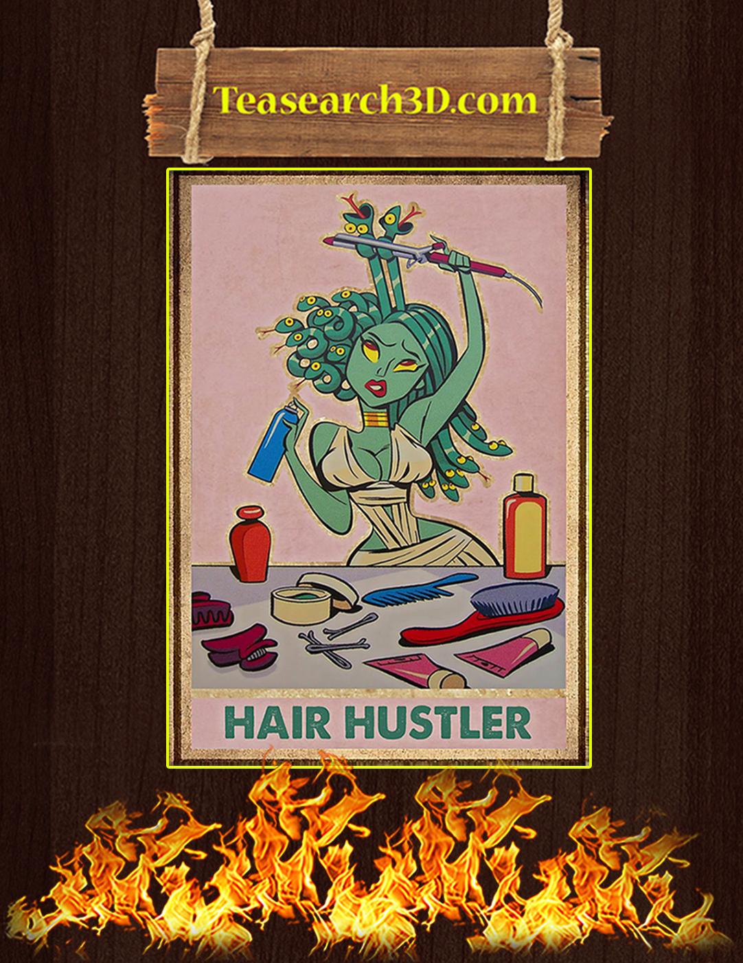 Medusa hair hustler poster A2
