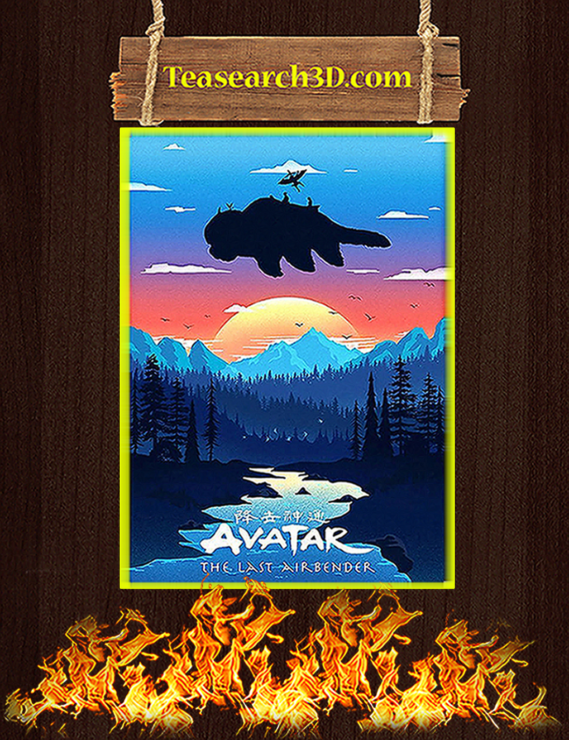 Avatar the last airbender poster A3